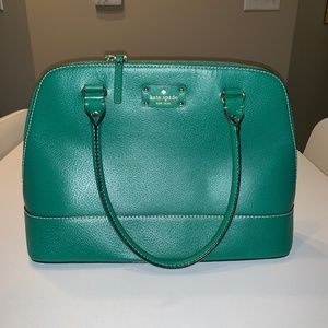Green Kate Spade Purse